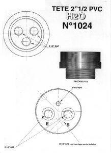 TETE PVC 2.5 POUCE 0.5